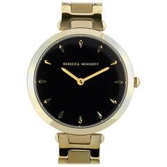 Rebecca Minkoff Nina Gold-Tone Watch 200277