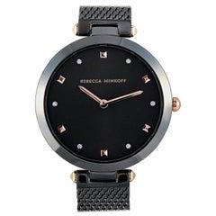 Rebecca Minkoff Nina Gunmetal Ion-Plated Watch 2200302