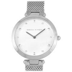 Rebecca Minkoff Nina Stainless Steel Mesh Bracelet Watch 2200299