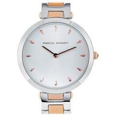 Rebecca Minkoff Nina Two-Tone Watch 2200279