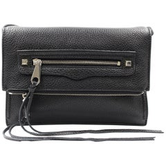 Rebecca Minkoff Regan Small Black Ladies Clutch Bag HF16EPBC45