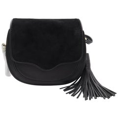 Rebecca Minkoff Suki Black Saddle Xbody Women's Large Handbag HH16IUSX67