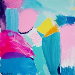 Rebecca Newport, Summer no. 2, Contemporary Abstract Painting, Affordable Art