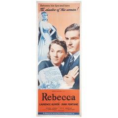 """""""Rebecca"""" R1948 U.S. Insert Film Poster"""