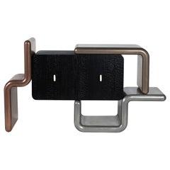 Rebound, the Liquid Metal Cabinet Designed by Roberto Giacomucci