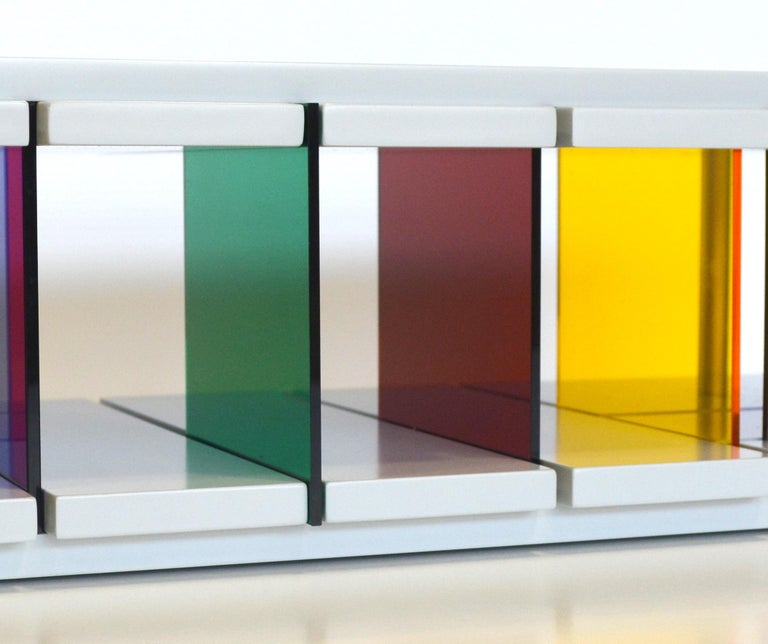 Recessed Discussion Stream sculpture by Liam Gillick In New Condition For Sale In New Canaan, CT
