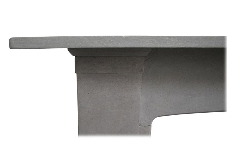 English Reclaimed 19th Century Stone Fire Surround For Sale