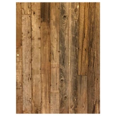 Reclaimed Antique Solid Wood Oak Flooring 18th-19th Century, France