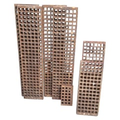 Reclaimed Cast Iron Grating, 20th Century