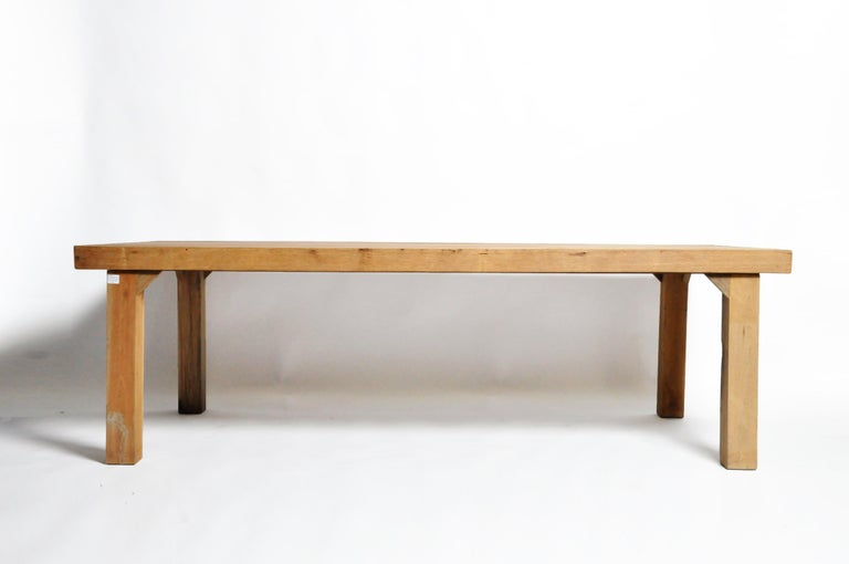 Reclaimed Champaca Wood Dining Table For Sale 14
