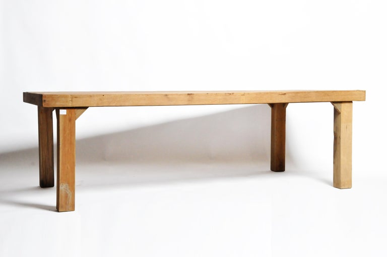Thai Reclaimed Champaca Wood Dining Table For Sale
