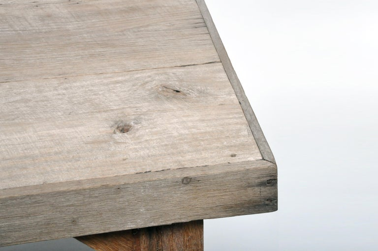 Reclaimed Champaca Wood Dining Table For Sale 3