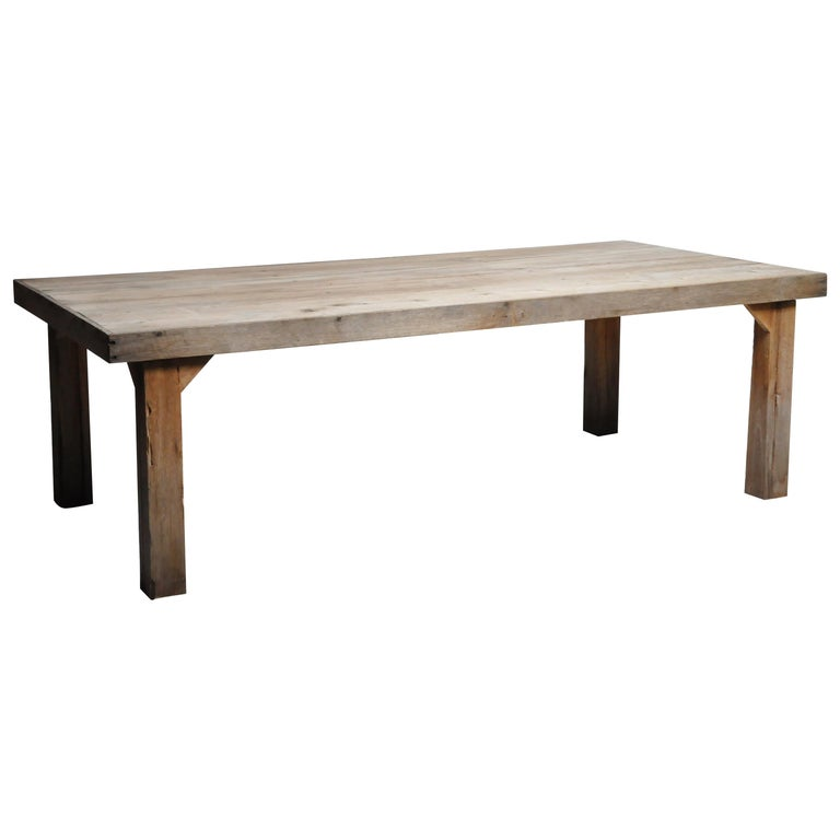 Reclaimed Champaca Wood Dining Table For Sale