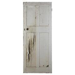 Reclaimed Edwardian Pine Interior Door, 20th Century