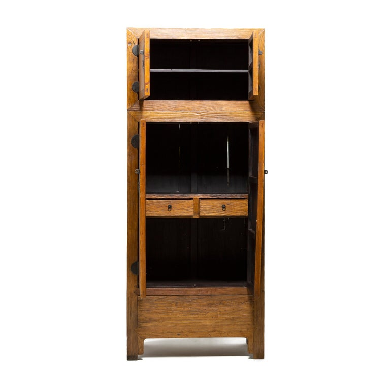 Salvaged Kitchen Cabinets For Sale: Reclaimed Elm Chinese Compound Cabinet For Sale At 1stdibs