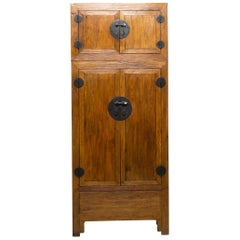 Reclaimed Elm Chinese Compound Cabinet