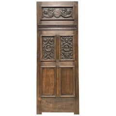 Reclaimed English Jacobean Style Oak Door