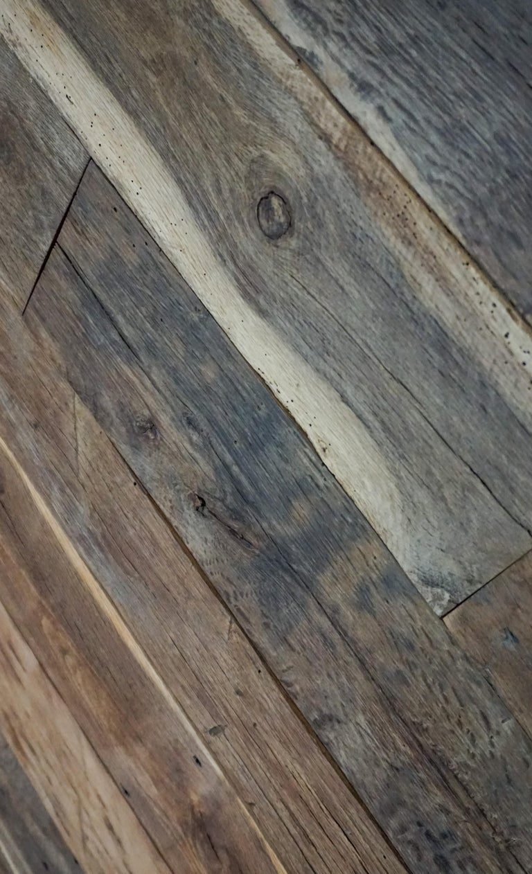 French Reclaimed European Wood Flooring For Sale