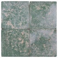 Reclaimed Green Marble Effect Cement Floor Tiles