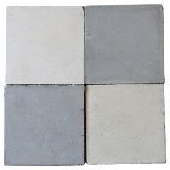 Reclaimed Grey and White Spanish Tiles