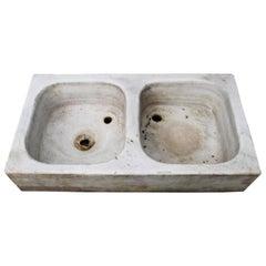 Reclaimed Italian Carrara Marble Sink or Basin