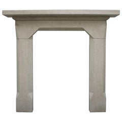 Reclaimed Mid-19th Century Bath Stone Fireplace Surround