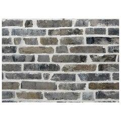 "Reclaimed Old Blue Bricks Called ""Waaltjes"""