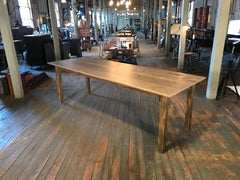 Reclaimed Pine Harvest Table