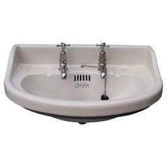 Reclaimed Porcelain Wash Basin / Sink