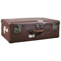 Reclaimed Suitcase / Vintage Storage, 20th Century