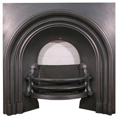 Reclaimed Victorian Arched Fireplace Grate