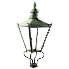 Reclaimed Victorian Copper Lantern Frame, 20th Century