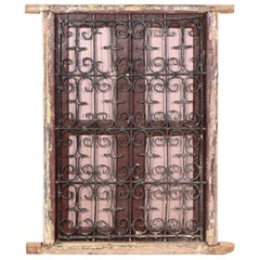 Reclaimed Window from Morocco, 20th Century