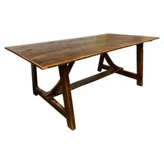 Reclaimed Wood Schoolhouse Dining Room Table