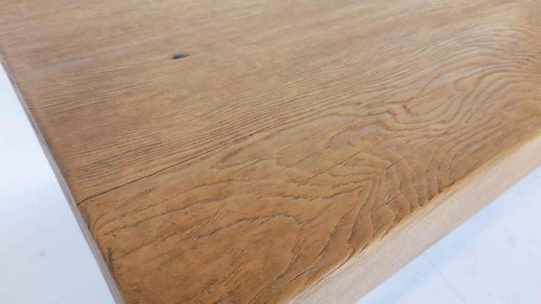 Reclaimed Wood Tavern Dining Table For Sale 2