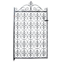 Reclaimed Wrought Iron Garden Gate