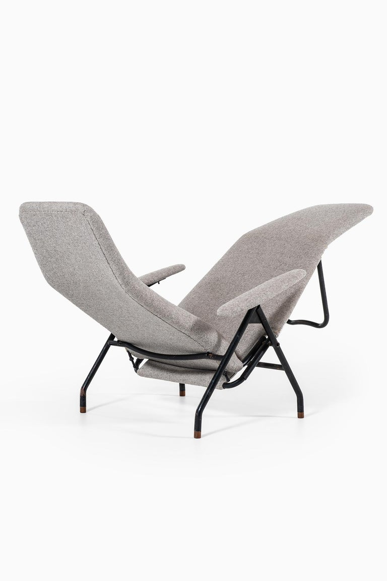 Reclining Easy Chairs Produced in Denmark For Sale 3