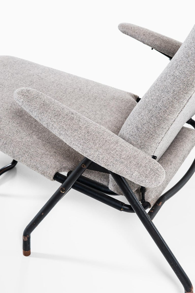 Danish Reclining Easy Chairs Produced in Denmark For Sale