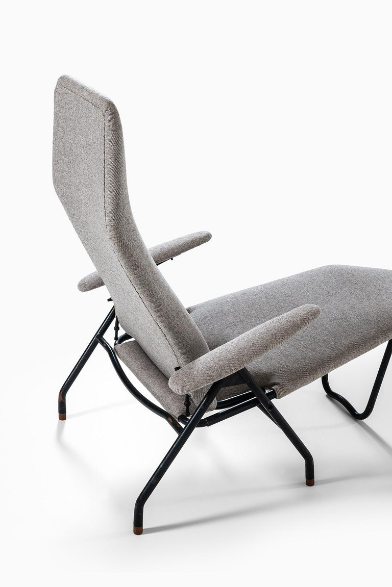 Mid-20th Century Reclining Easy Chairs Produced in Denmark For Sale