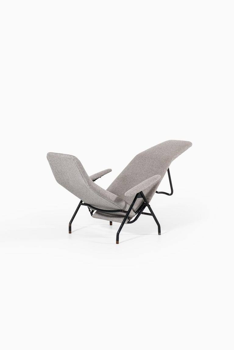 Reclining Easy Chairs Produced in Denmark For Sale 2