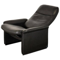 de Sede DS 50 reclining Leather Lounge Armchair, Switzerland