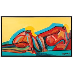 Reclining Nude Art Piece by Fred Ingrams