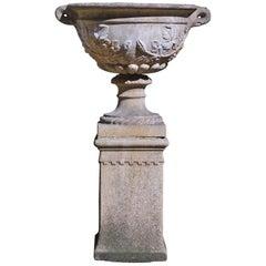 Reconstituted Stone Garden Urn