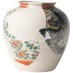 Reconstructed Ceramics #7 Contemporary Zen Japonism Style