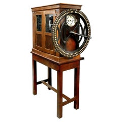 Recording Dial Clock by the International Time Recording Company