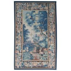 Re-Kreation eines Aubusson Verdure Design Wandteppichs aus dem 18. Jahrhundert