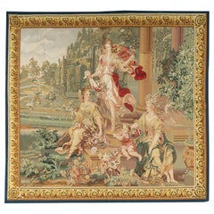 21st Century Recreation of an 18th Century Brussels Tapestry 5'7 x 6'1