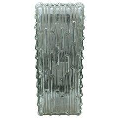 Rectangle Glass Sconces Vintage, Germany, 1960s