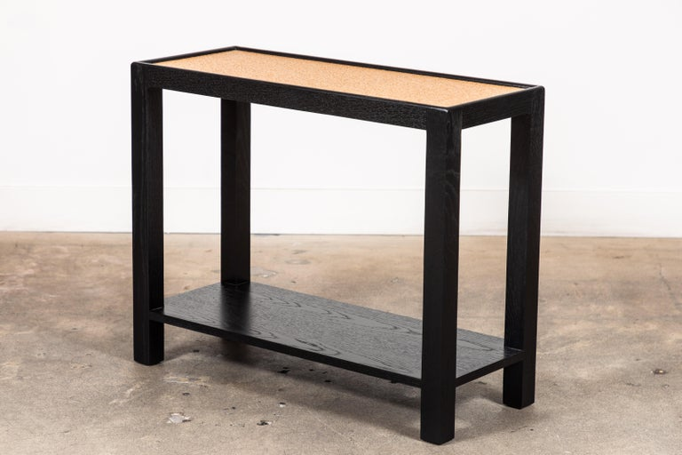 Mid-Century Modern Rectangle Narrow Side Table by Lawson-Fenning For Sale