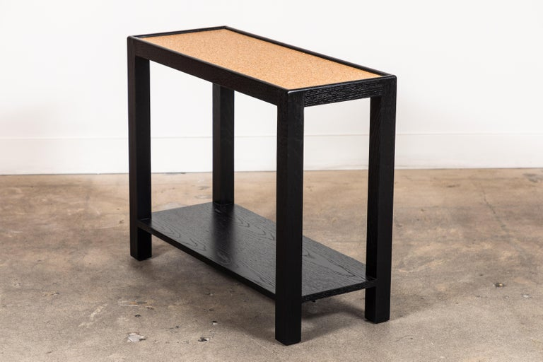 American Rectangle Narrow Side Table by Lawson-Fenning For Sale